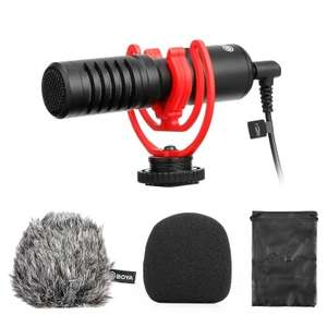 BOYA BY-MM1+ Professional Video Audio Recording Microphone £33.41 @ Tomtop