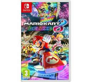 Mario Kart 8 Deluxe / Super Mario Maker 2 [Nintendo Switch] £34.95 each With Code Delivered @ Currys/eBay