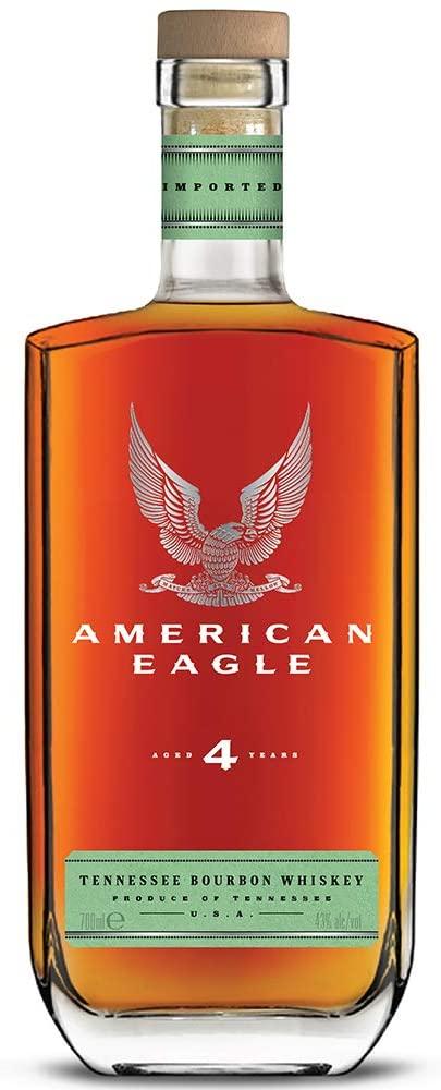 American Eagle Bourbon 4 Year Old, 70 cl £23.95 Amazon Prime / £28.44 Non Prime