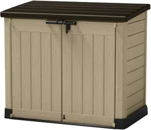 Keter Store-It Out Max Outdoor Plastic Garden Storage Shed, Beige and Brown £120 @ Amazon