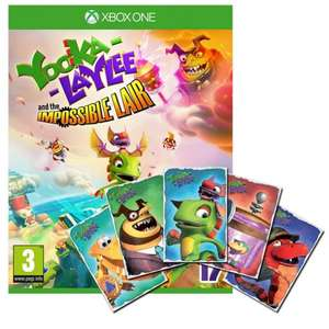 Yooka Laylee And The Impossible Lair & Limited Edition Art Cards [Xbox One] £11.95 @ The Game Collection