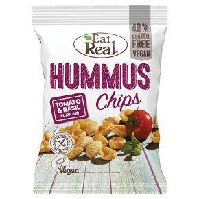 Eat Real Hummus Chips 135g £1 at Waitrose & Partners