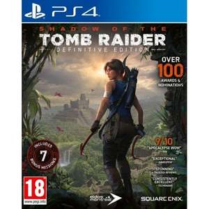 [PS4] Shadow Of The Tomb Raider: Definitive Edition - £19.95 delivered @ The Game Collection