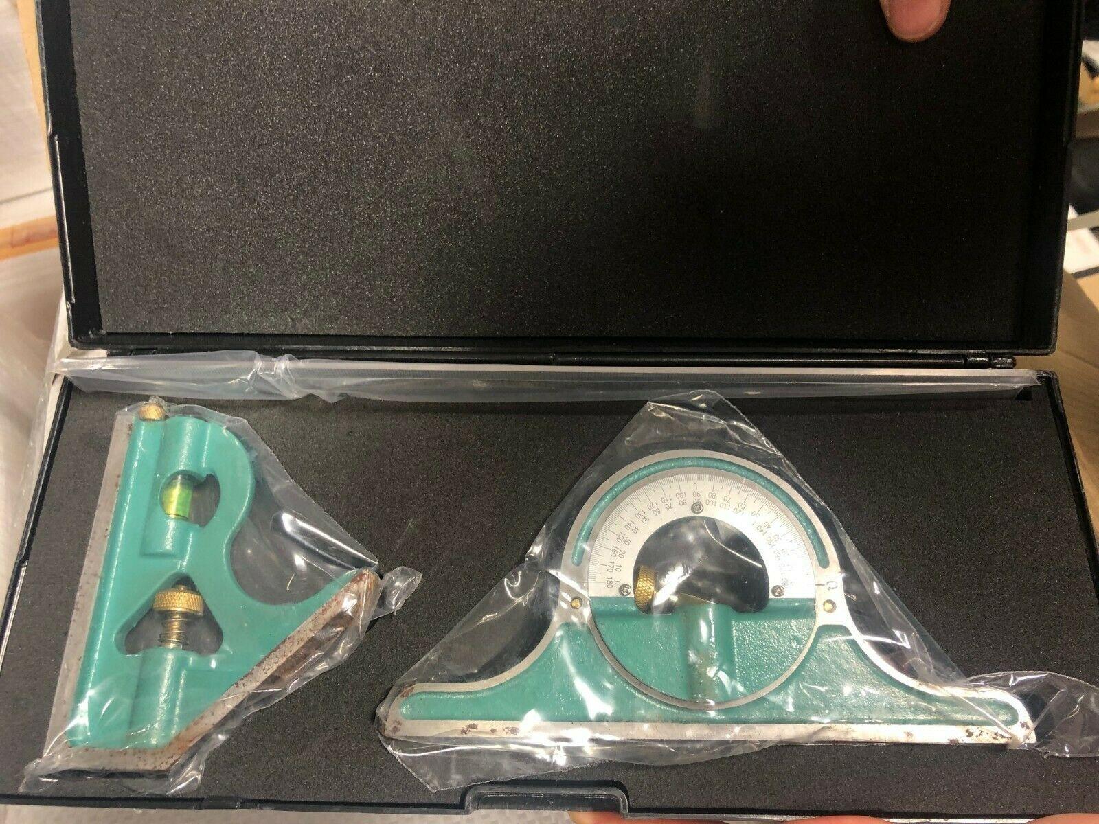 3 Piece Axminster Precision Combination Square Set - £19.96 @ eBay / Axminsteroutletstore