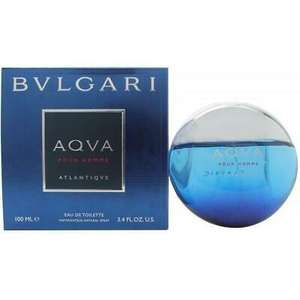 Aqva Pour Homme Atlantiqve Bvlgari for men - £35.96 with Code @ eBay / perfume_shop_direct