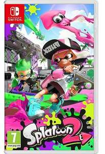 Splatoon 2 Nintendo Switch game (pre-owned) - £33.79 delivered @ Music Magpie