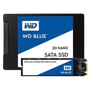 """WD Blue 3D NAND SATA m.2 2280/2.5"""" SSD- 500GB - 560/530MB/s R/W -5 Yrs. Ltd. Warranty - £52.99 With Code Delivered @ Western Digital Shop"""
