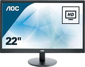 "AOC 21.5"" E2270SWDN Full HD LED Home/Office Monitor with DVI/VGA, £64.99 delivered at CCL"