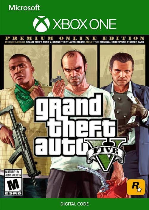Grand Theft Auto V 5: Premium Online Edition Xbox One GTA £11.99 @ CDKeys