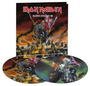 Iron Maiden - Maiden England '88 [2LP Limited Edition Picture Disc] [VINYL + FREE MP3] £24.99 delivered @ Amazon