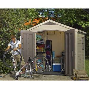 Keter Factor Double Door Plastic Apex Shed - 8 X 6 Ft - £595 Delivered @ Wickes