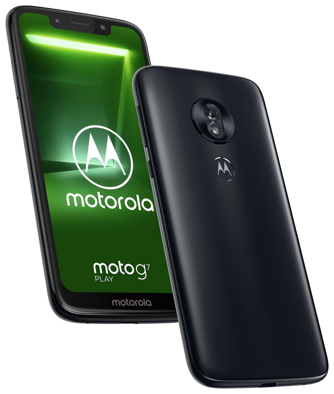SIM Free Motorola G7 Play 32GB Mobile Phone - Indigo - £99.95 + £3.95 delivery @ Argos