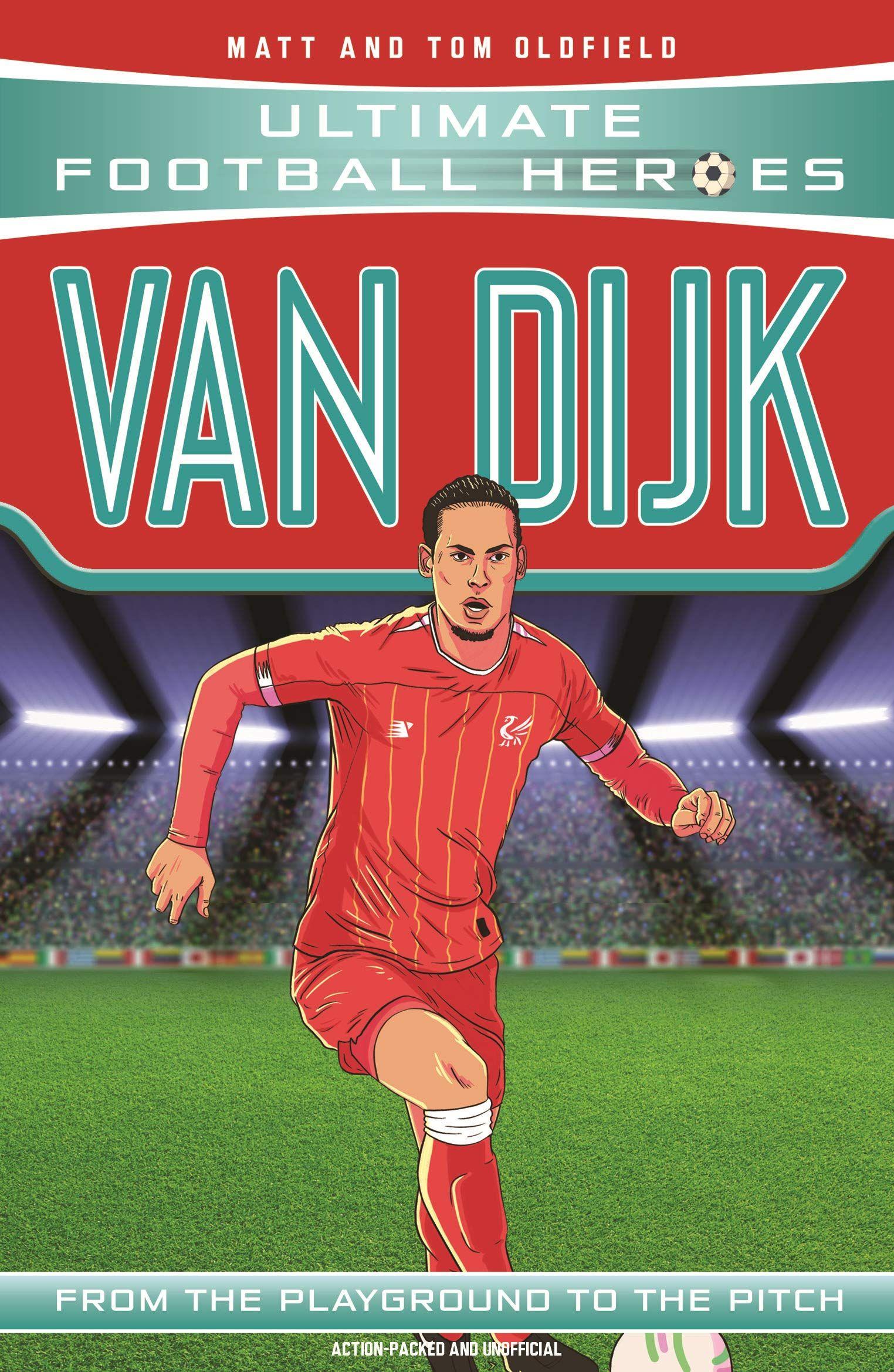 Football Heroes Book Virgil Van Dijk - Paperback £2.99 + £4.49 NP @ Amazon