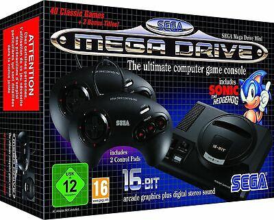 SEGA Mega Drive Mini - CLASSIC CONSOLE 40+ Games - £50.49 With Code Delivered @ bopster /eBay