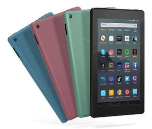 "Amazon Fire 7 with Alexa 7"" IPS Display 16GB 2MP Tablet (Black/Sage/Plum) + 6 months Spotify Premium - £39.99 delivered @ Currys PC World"