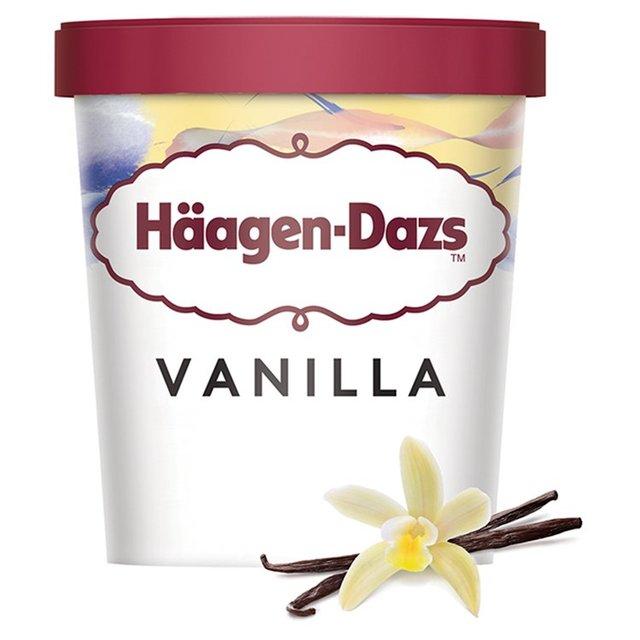 Haagen-Dazs (Vanilla   Salted Caramel   Strawberry & Cream) Ice Cream 460Ml £2.50 @ Morrisons