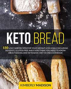 Keto Bread Kindle book free on Amazon