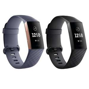 Fitbit Charge 3 Fitness Tracker w/ Heart Rate, Swim Tracking & 7 Day Battery (Black/Rose-Gold/Grey or Berry) - £79.99 delivered @ Amazon