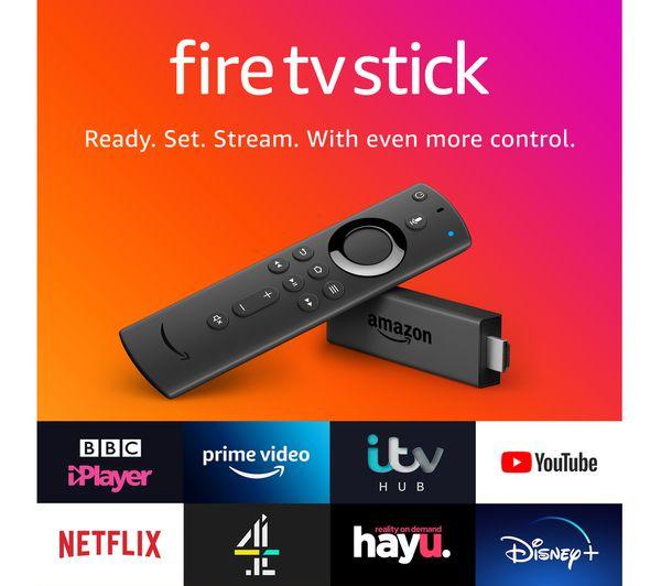 Amazon Fire TV Stick £24.95 | Fire HD 8 16GB Tablet £44.99 | Echo Dot £29.99 | Echo Smart Speaker £69.99 @ Currys PC World