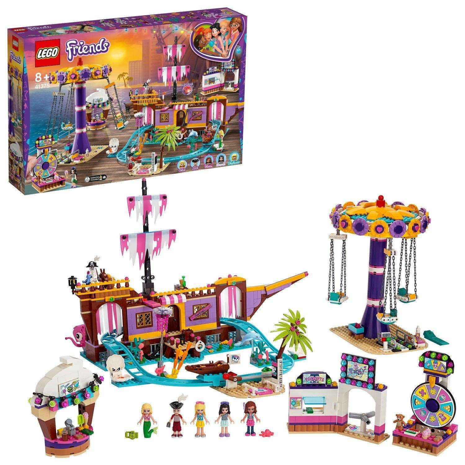 LEGO Friends Heartlake City Pier Playset 41375 - £70.45 delivered @ Argos