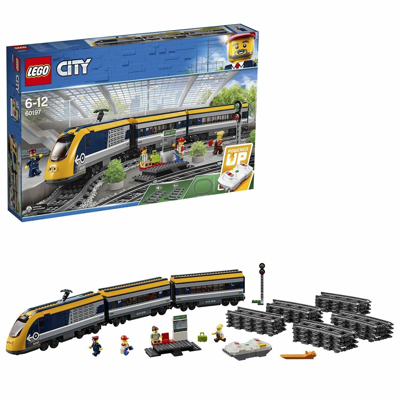 LEGO City Passenger RC Train Toy Construction Set 60197 - £73.95 delivered @ Argos