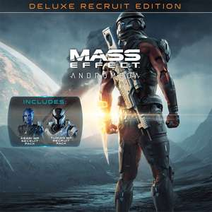 Mass Effect™: Andromeda – Deluxe Recruit Edition £6.99 (Standard Recruit Edition £3.99) @ Playstation Network