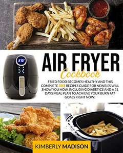 Air Fryer Cookbook Kindle Edition free on Amazon
