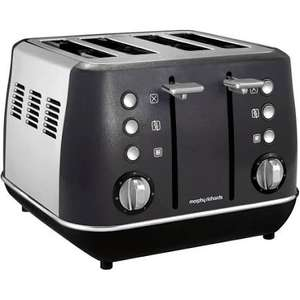 Morphy Richards Black/Cream Evoke Kettle £24 / Toaster £23 - £3.50 delivery @ John Lewis & Partners