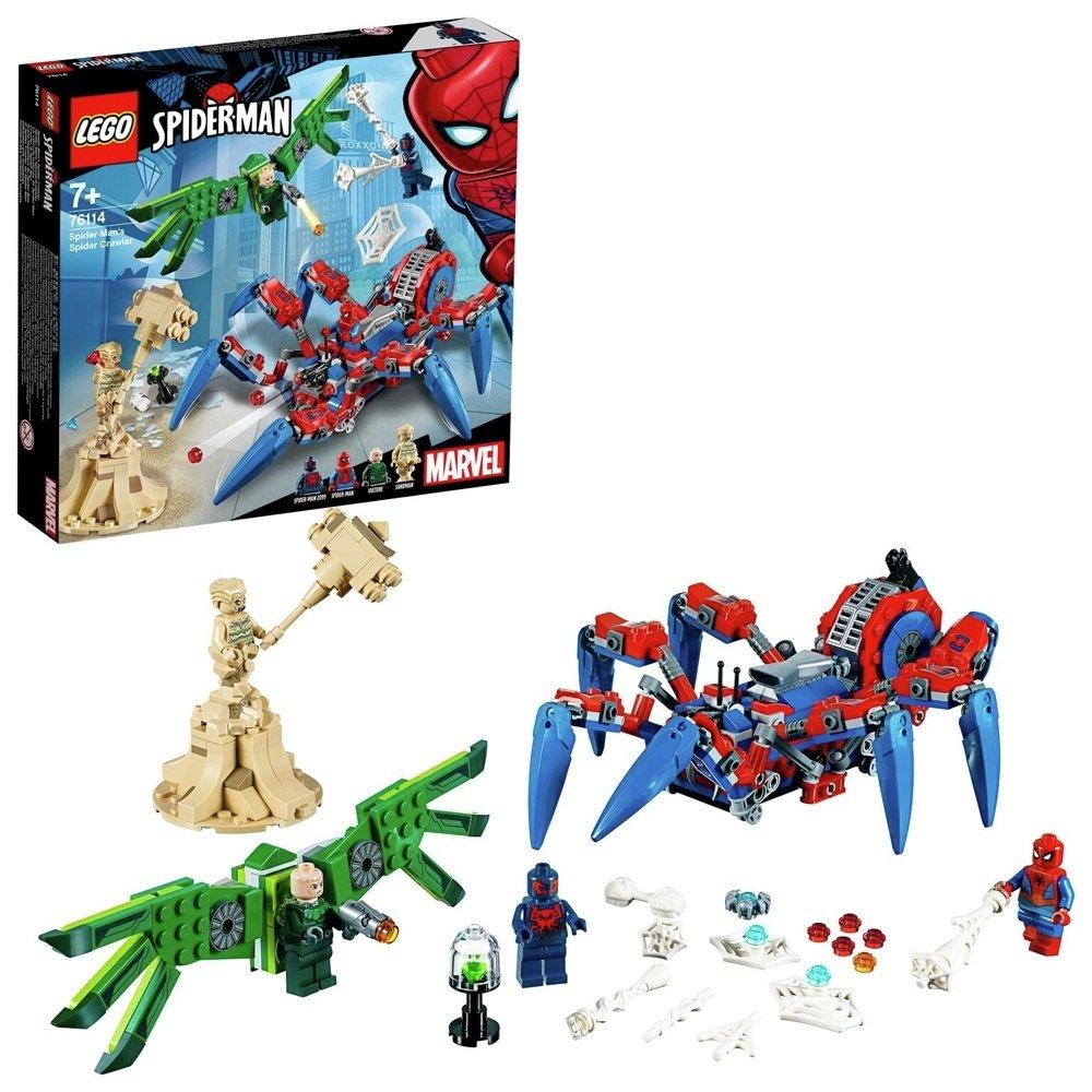 LEGO Super Heroes Spider-Man's Spider Crawler Set 76114 - £23.95 delivered @ Argos