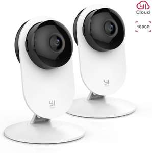 YI 2pc 1080P Home Camera Wireless Indoor Security IP Camera - 2 Cameras for £38.69.Sold by Seeverything UK and Fulfilled by Amazon.