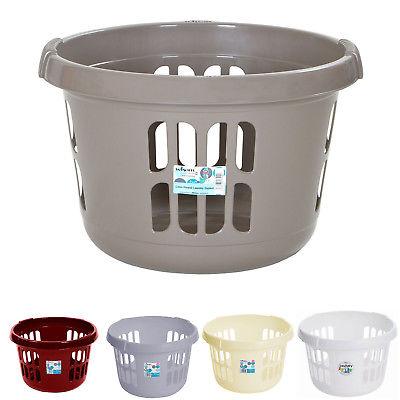 Wham 50L Round Laundry Basket Storage Space - £3.99 delivered @ ukbuyonline / ebay