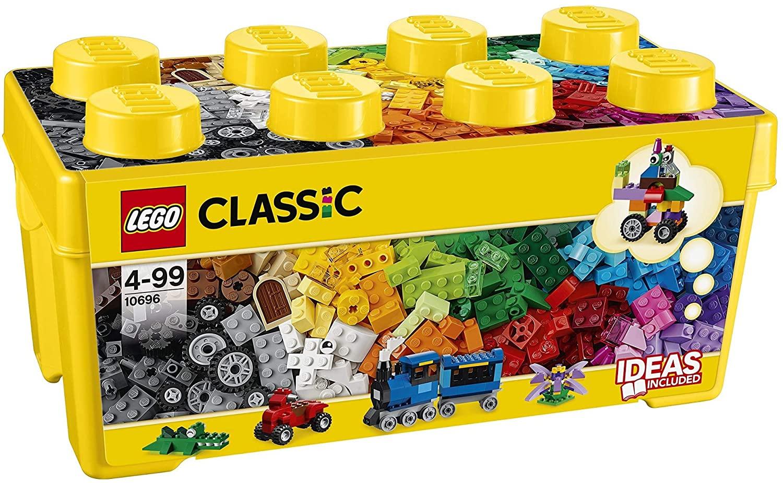 Lego 10696 Classic Medium Creative Brick Box (484 pieces) £16.50 (+£4.49 delivery non Prime) @ Amazon Prime