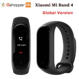 Xiaomi Mi Band 4 smart health tracker bracelet for £17.55 delivered using coupon @ AliExpress Deals / Gshopper Mi Store