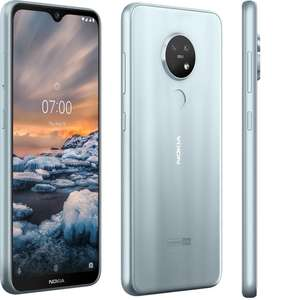 "Nokia 7.2 ""Opened Never Used"" - 64GB Storage/4GB RAM Version in ""Ice"" Grey with Free Nokia Clear Case - £159.99 @ softpriced / eBay"