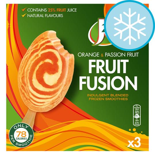 3 x J2O orange & Passion Fruit or Apple and Mango Fruit Passion Smoothies 270ml £1 at Heron Foods.