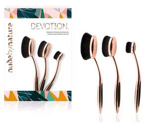 Nude by Nature - 'Devotion' Oval Brush Set £17.50 at Debenhams