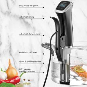 Gourmia Immersion Sous Vide Pod Circulator - £32.99 @ Amazon / Dispatched from and sold by SmartSalesUK.