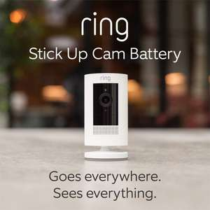 All-new Ring Stick Up Cam Battery £69 @ Amazon