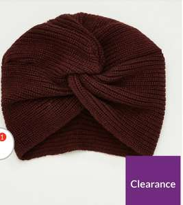 V By Very Knitted Turban Knitted Turban only £2.80 @ Very