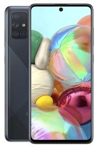 Samsung A71 with 100gb data on Three at Affordable Mobiles for £30pm (£720)