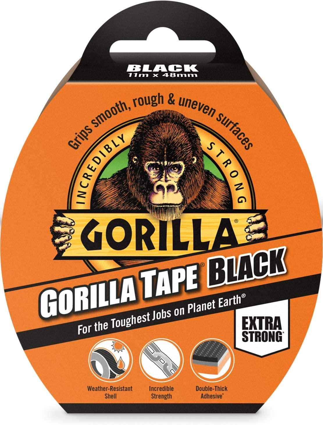 Gorilla Tape 11m Roll £3.25 (Prime) + £4.49 (non Prime) at Amazon