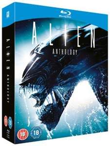 Alien Quadrilogy Blu-ray (New) £6.49 delivered @ Music Magpie