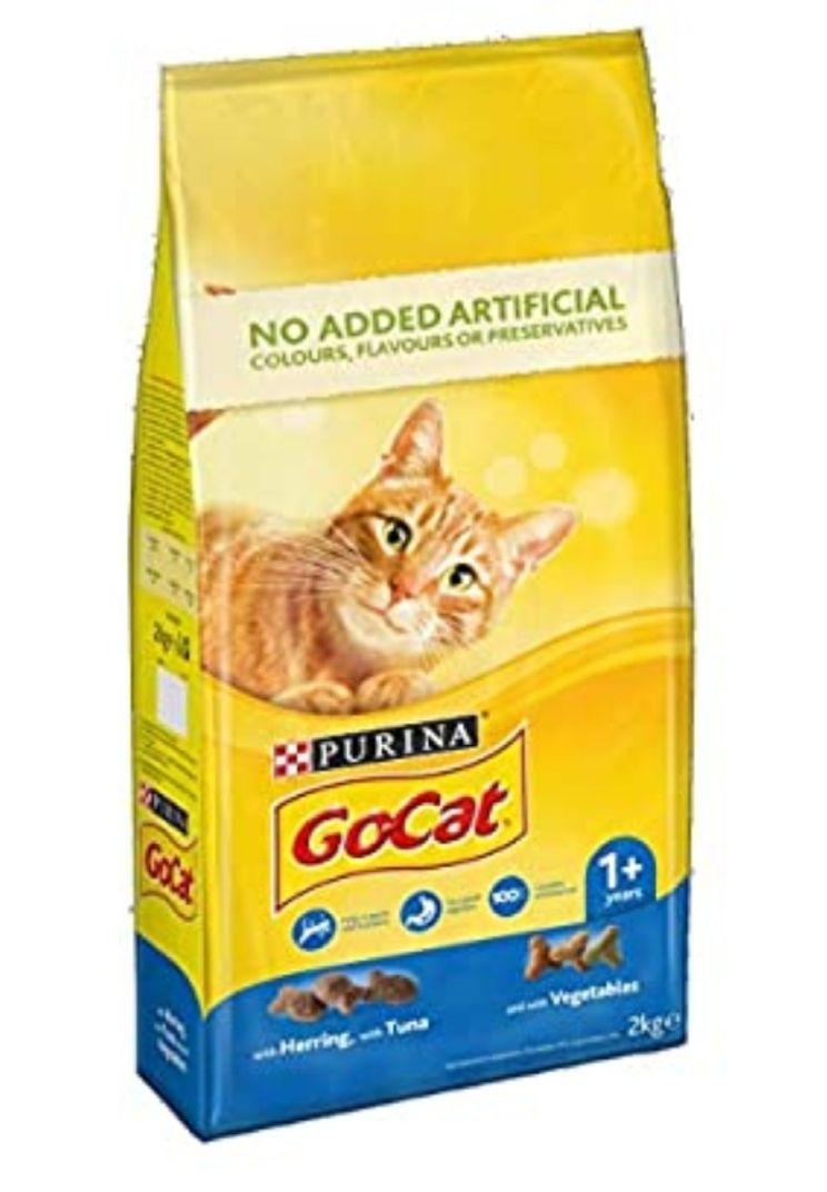 Go-Cat Adult dry food. Tuna,herring & veg 2kg @ Amazon - £3.55 (Prime) £8.04 (Non Prime)