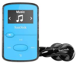 SanDisk Sansa Clip Jam MP3 Player 8GB (Blue,Green,Pink,Red) 4 Colours - £22.99 delivered @ PicStop