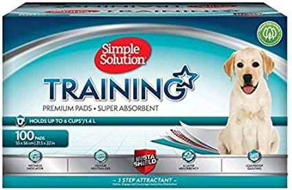 Simple solution premium dog and puppy training pad - £19.50 (+£4.49 Non-Prime) @ Amazon