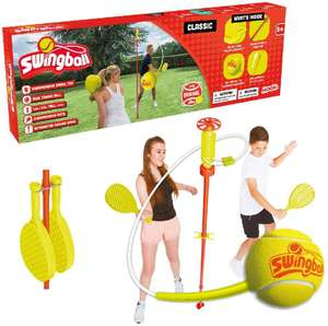 Swingball Classic, Multi-Colour, Red - £29.52 - Sold and Despatched bty Scalology @ Amazon