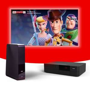 Virgin Media Bigger Bundle + Sports + Movies + HD - £75pm x 12 Months - Total Cost £900 (Effectively £55pm After Cashback)