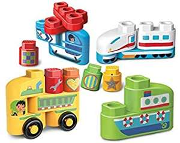 VTech 80 – 605704 Building Blocks Construction Toy – Assorted - £6.93 (+£4.49) @ Amazon
