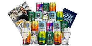 20 Craft Beers + 2 Glasses £29.95 Delivered @ Flavourly (new customers only)