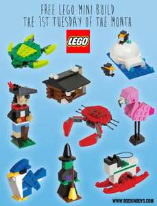 Lego Monthly Mini build (starting at 2014)